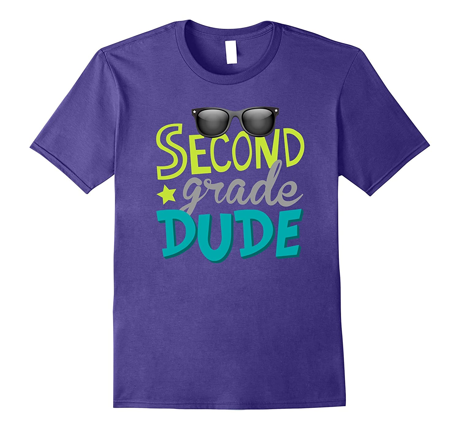 Second Grade Dude Shirt First Day Of 2nd Grade-TJ
