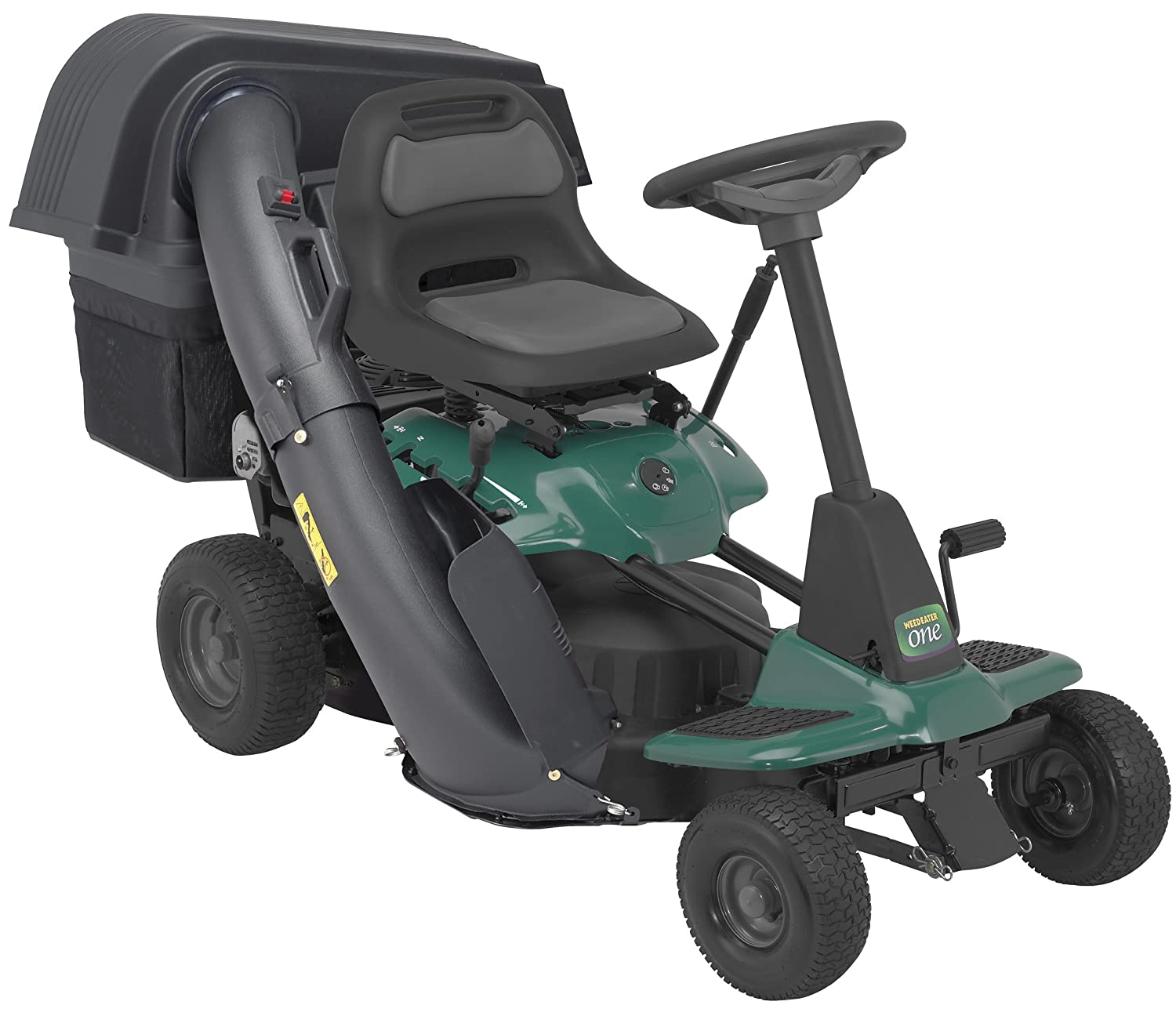 weed eater lawn tractor. amazon.com : weed eater 960730027 we-one 26-inch two-bin bagger kit grass catchers garden \u0026 outdoor lawn tractor e
