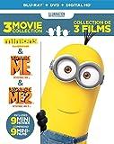 Minions / Despicable Me / Despicable Me 2 (Blu-ray + DVD) (Blu-ray)