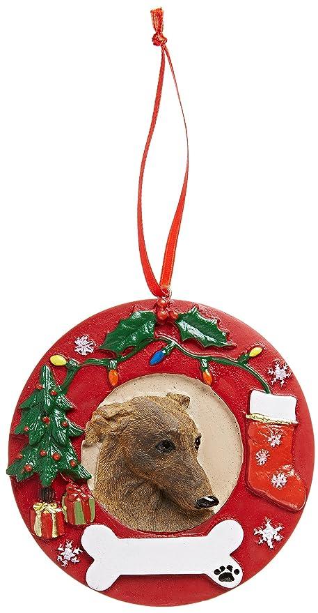 E&S Pets Greyhound, Brindle Christmas Ornament - Amazon.com: E&S Pets Greyhound, Brindle Christmas Ornament: Pet Supplies