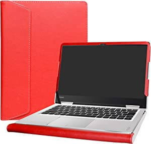 "Alapmk Protective Case Cover for 14"" Lenovo Yoga 710 14 710-14ISK 710-14IKB & ThinkBook 14s 14s-IWL 14s-IML Laptop(Note:Not fit Yoga 710 11.6 & 15.6/Yoga 720/Yoga 730 & ThinkBook 14-IML),Red"