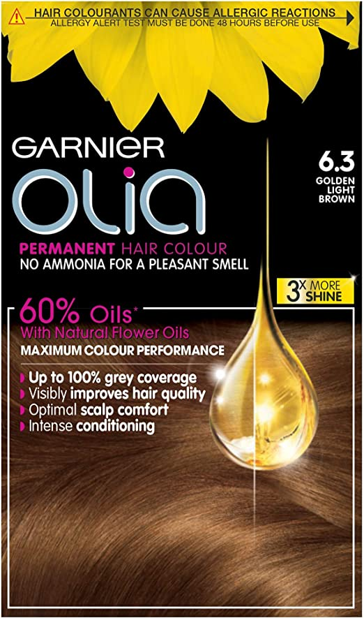 Garnier Olia - Tinte de coloración permanente para el pelo