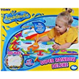 Aquadoodle Super Rainbow Deluxe Large Water Doodle Mat, Official Tomy No Mess Colouring & Drawing Game, Suitable for…