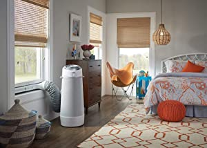 Frigidaire Cool Connect Smart Cylinder Portable Air Conditioner for Rooms up to 450-sq. ft. White
