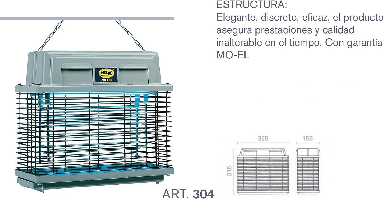 MOEL ELETTROINSETTICIDA 1X15W IPX3 304