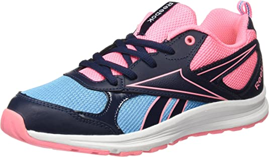 Reebok BD4040, Zapatillas de Trail Running para Niñas, Azul (Azul (Collegiate Navy/Blue Beam/Peppy Pink), 27 EU: Amazon.es: Zapatos y complementos