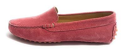 Damen Mokassins Rot Corallo, Rot - Corallo - Größe: 41 EU Elite