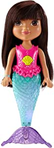 Fisher-Price Nickelodeon Dora and Friends Sparkle and Swim Mermaid Dora
