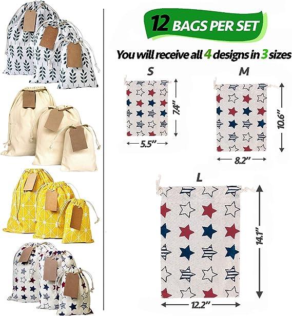 Storage Bag Solid Pink Unicorn Drawstring Flat-Bottom Reusable Gift Sack