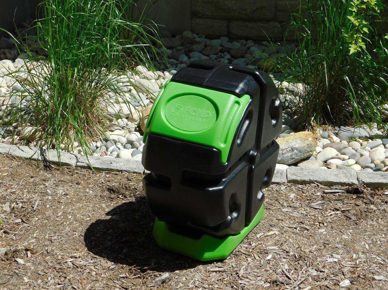 Amazon.com: FCMP compostador de rodillos para exteriores ...