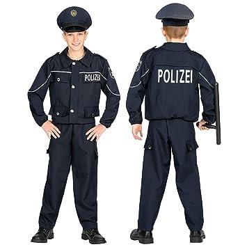 WIDMANN 02005 - Disfraz de policía para niños (116 cm), color ...
