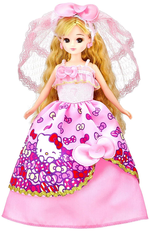 32849df81 Details about Takara Tomy Licca-chan Doll Hello Kitty Wedding Dress LD-13  Sanrio japan