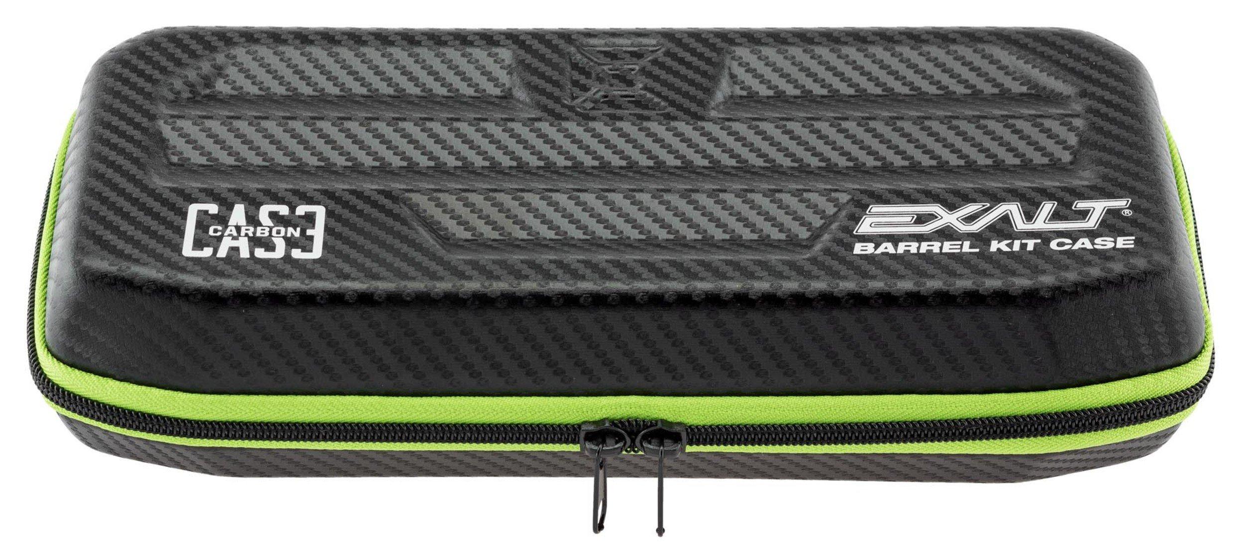 Exalt Paintball Carbon Series Barrel Case - Black/Lime by Exalt