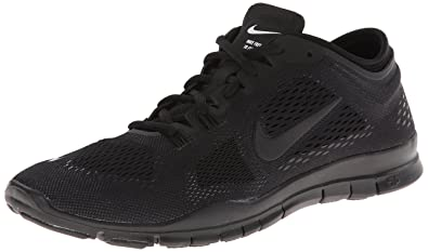 new photos a6bf3 f5a39 Nike Women s Free 5.0 TR Fit 4 Black Black Black 5.5 B - Medium
