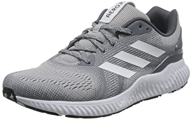 brand new a1ecb 8f1ab Adidas Mens Aerobounce St M GretwoFtwwhtGrethr Running Shoes - 10 UK