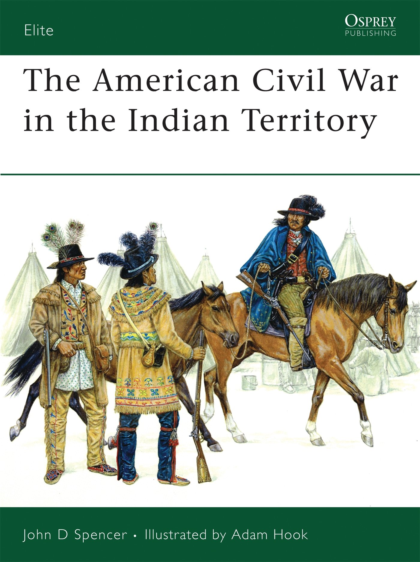 The American Civil War in the Indian Territory: No. 140 Elite ...