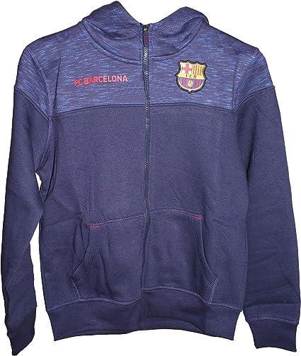 Sudadera FC Barcelona Capucha Abierta Adulto: Amazon.es: Ropa y ...