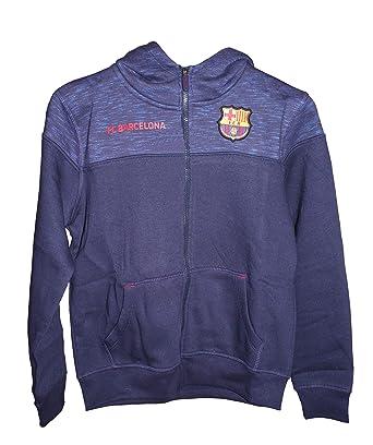Sudadera FC Barcelona Capucha Abierta Adulto: Amazon.es: Ropa y accesorios
