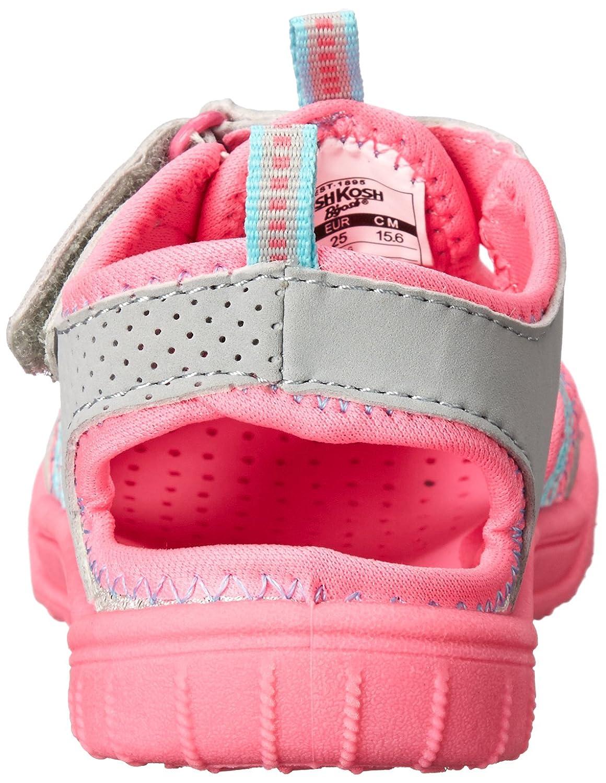 Silver 10 M US Toddler OshKosh B/'Gosh JAX-G Toddler//Little Kid OshKosh BGosh Jax-G Athletic Sandal K