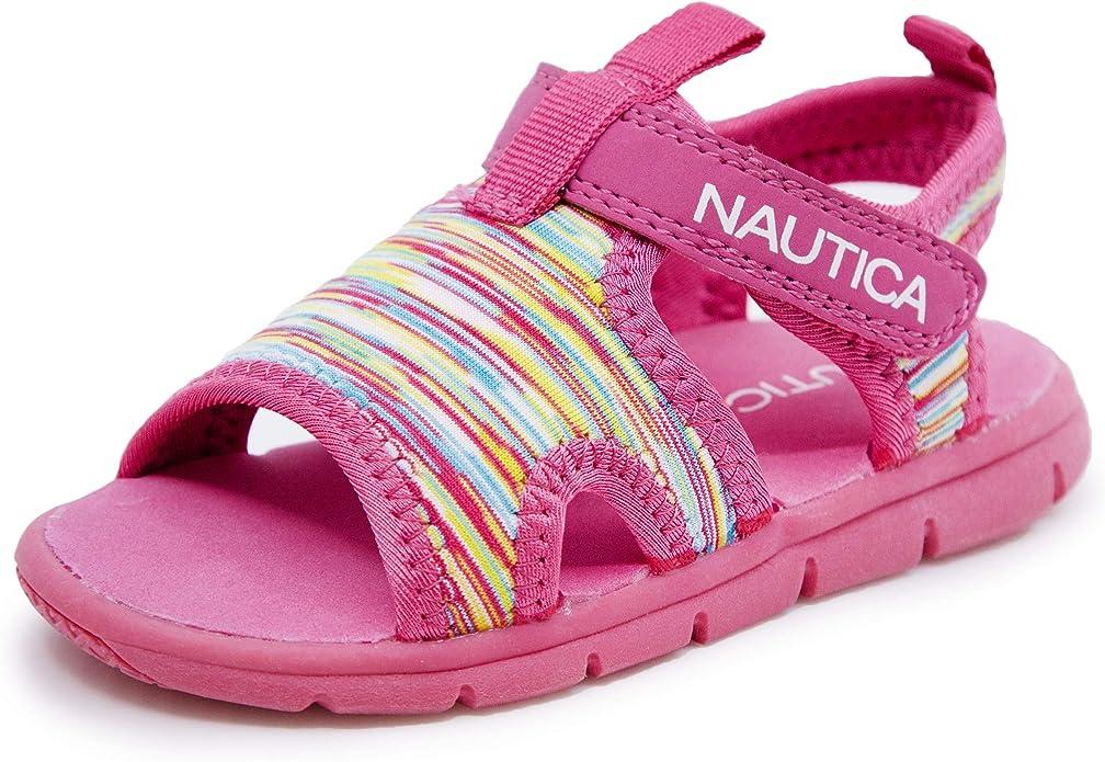 Toddler//Little Kid Nautica Kids Mikkel Closed-Toe Outdoor Sport Casual Sandals