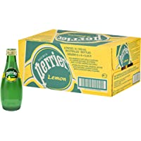 PERRIER Sparkling Mineral Water Lemon, 24 x 330 ml