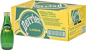 PERRIER Sparkling Mineral Water Lemon, 24 x 330 ml