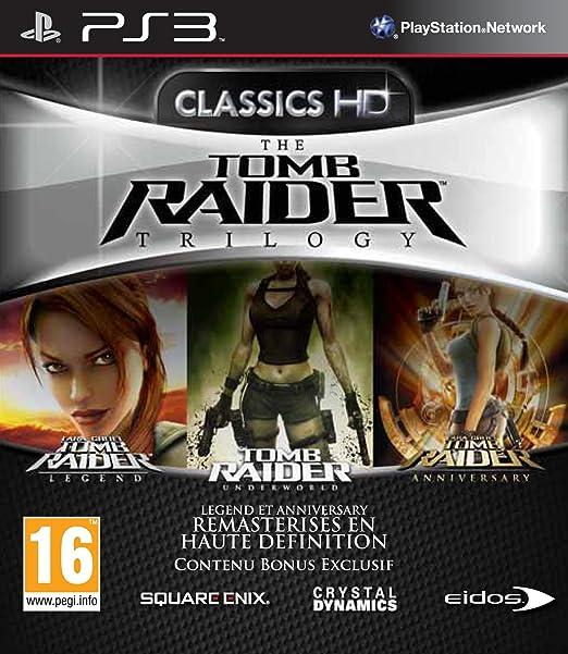 Square Enix The Tomb Raider Trilogy - Juego (PlayStation 3, Acción ...