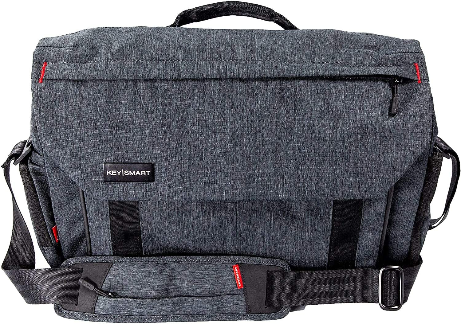 KeySmart Urban Hybrid Convertible Laptop Messenger Bag, Shoulder Bag, Backpack & Briefcase