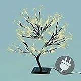 64er LED warm weiß Lichterbaum Lichterkette Energiesparbeleuchtung Weihnachten 45 cm