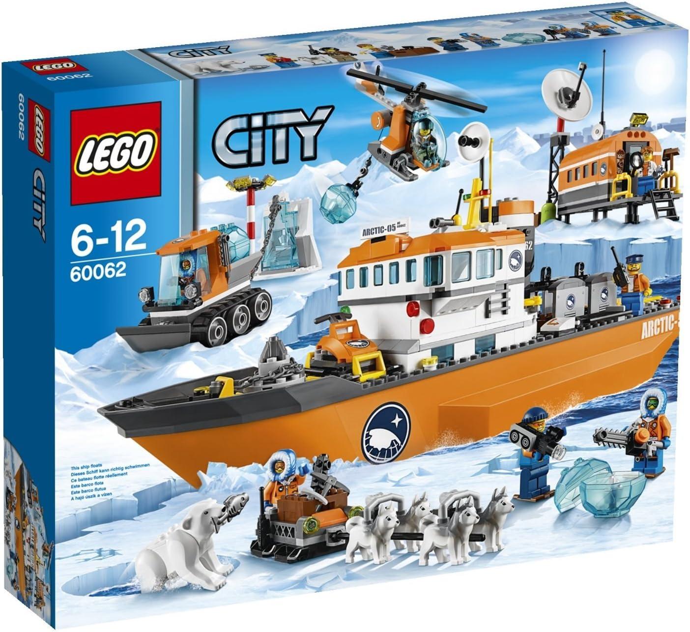 Amazon.com: Ciudad Lego Barco para romper el hielo 60062 ...