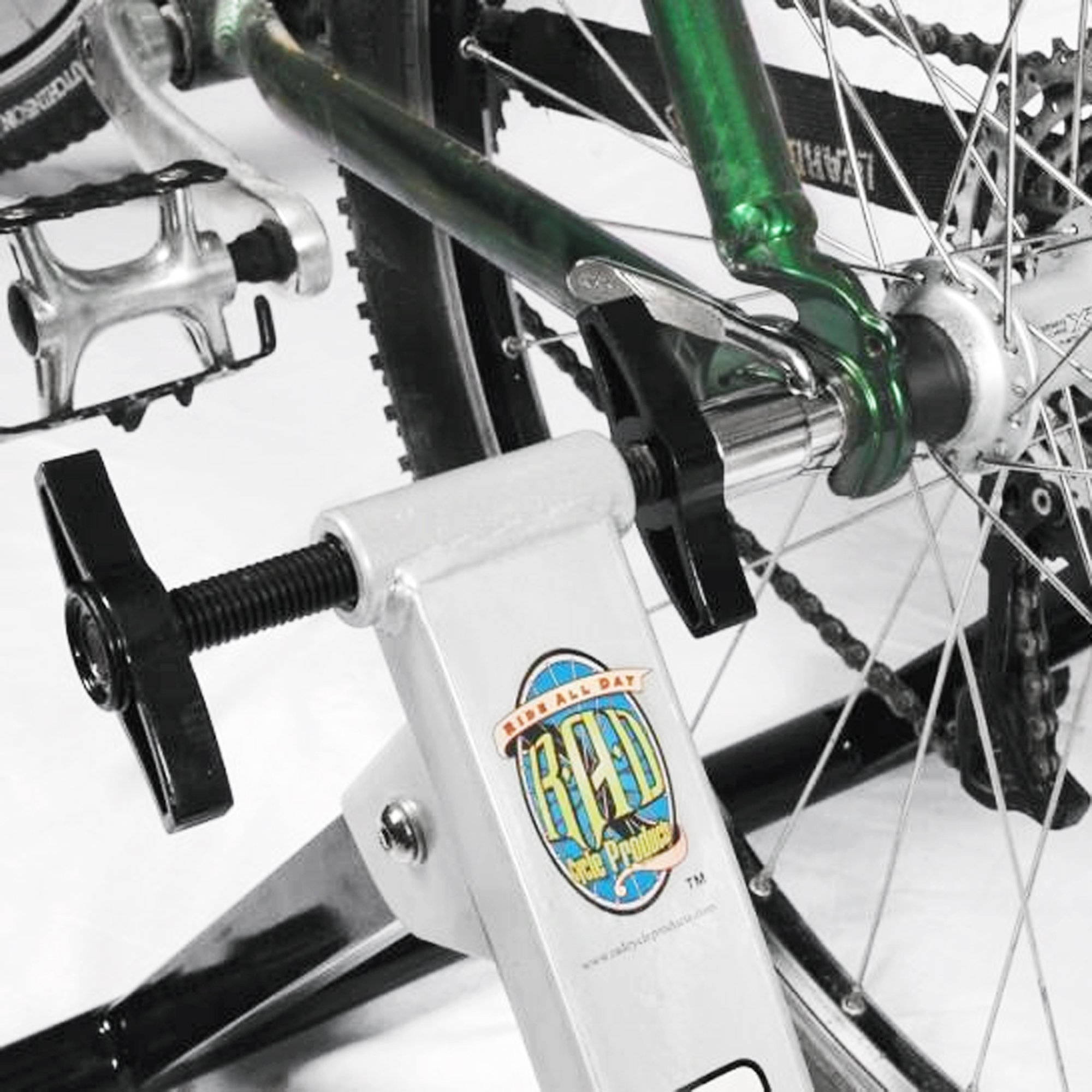 RAD Cycle Products Indoor Portable Magnetic Work Out Bicycle Trainer by RAD Cycle Products (Image #7)