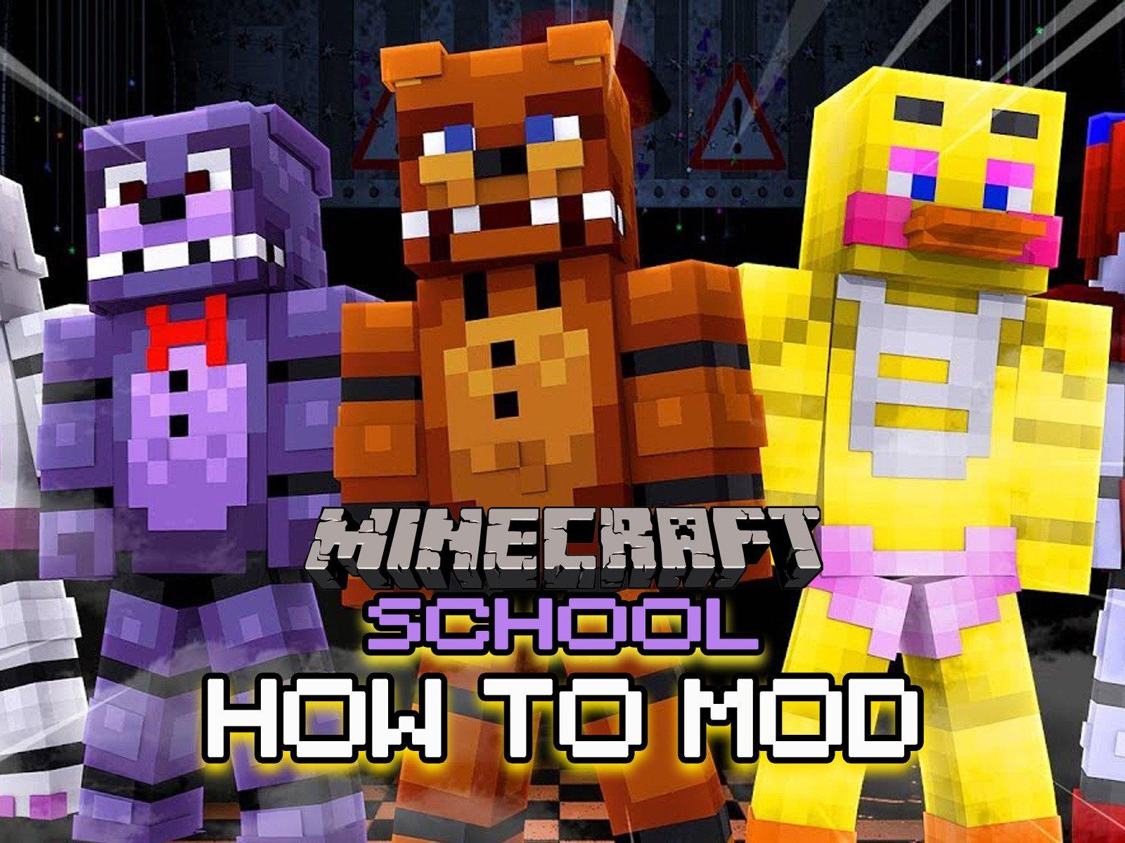 Amazon com: Watch Clip: How To Mod - Minecraft School