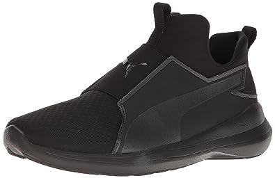 c61e2e5075a PUMA Women s Rebel MID WNS Cross-Trainer Shoe Black