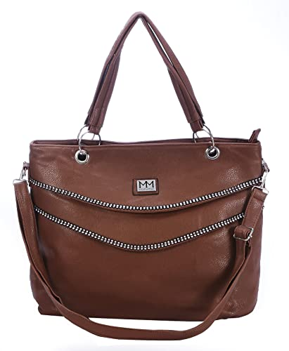 35909052a3621 ManuMar Joelle Handbag Brown  Amazon.co.uk  Shoes   Bags