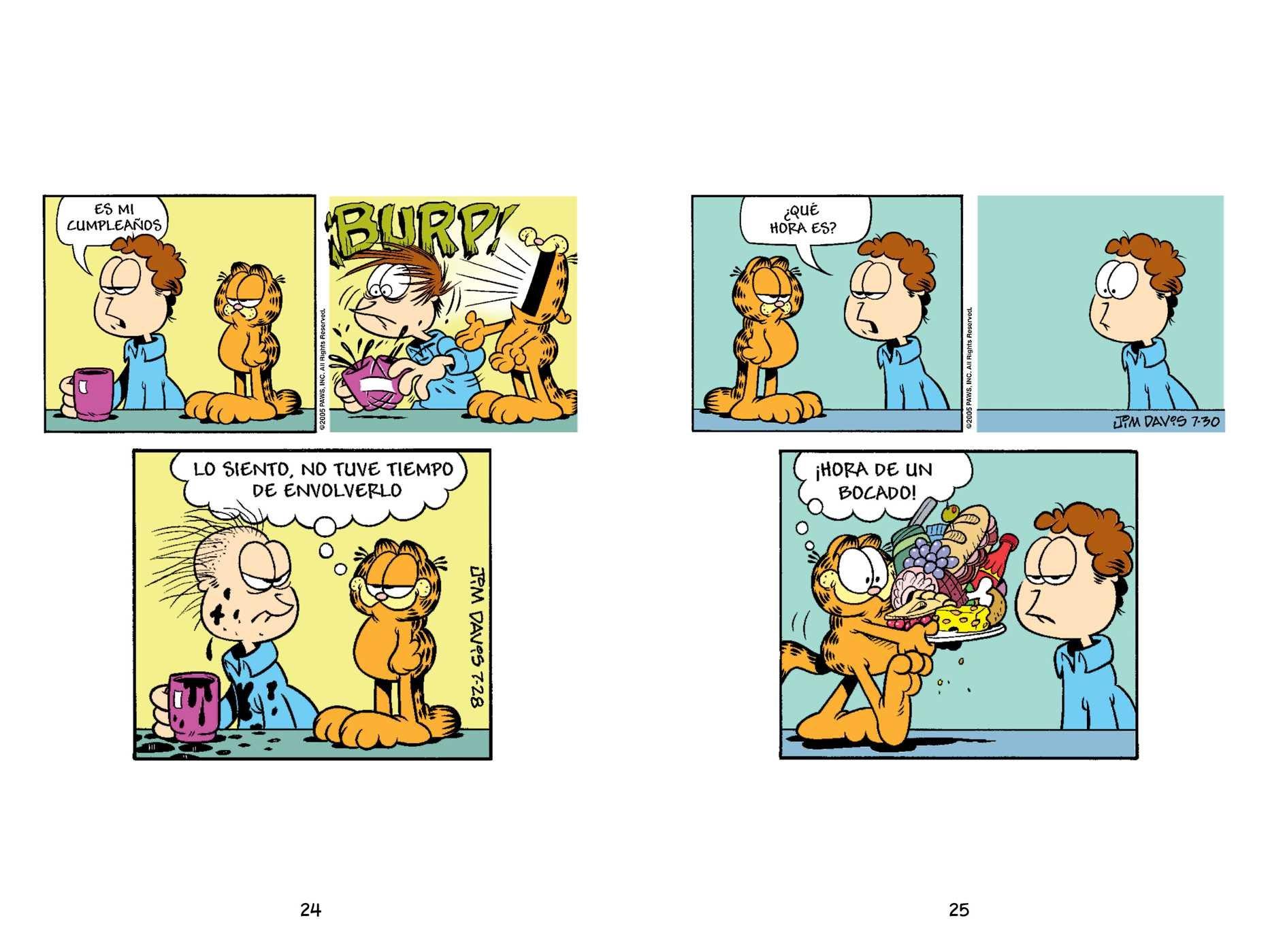 Garfield: Niego Todo (Spanish Edition)