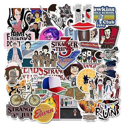 MiniMochi Pegatinas de Vinilo de Stranger, Graffiti Stickers Bomb Adhesivo Etiquetas Calcomanías para Laptop Maleta Skate Bicicleta Ordenador ...