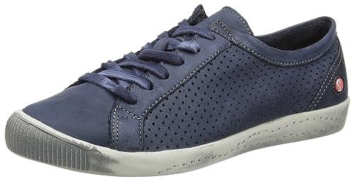 softinos Ica388Sof, Sneakers Basses FemmeBleu Marine, 37 EU
