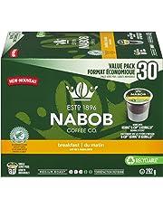Nabob Breakfast Blend Coffee Keurig K-Cup Pods, 30 Count