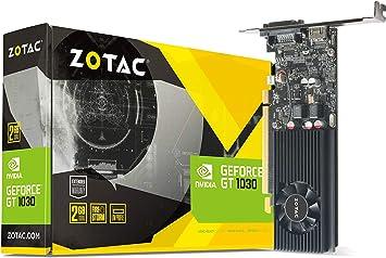 Amazon.com: Zotac zt-p10300 a-10l NVIDIA GeForce GT 1030 2 ...