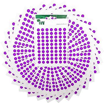 8mm Vinyl Colour Code dot  Stickers Self-Adhesive Permanent *019*