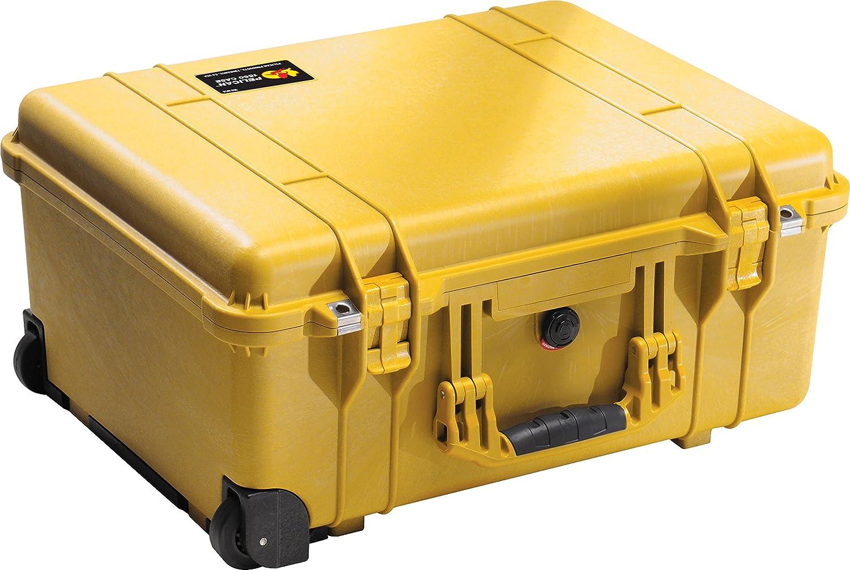 Pelican 1560 Camera Case With Foam Silver