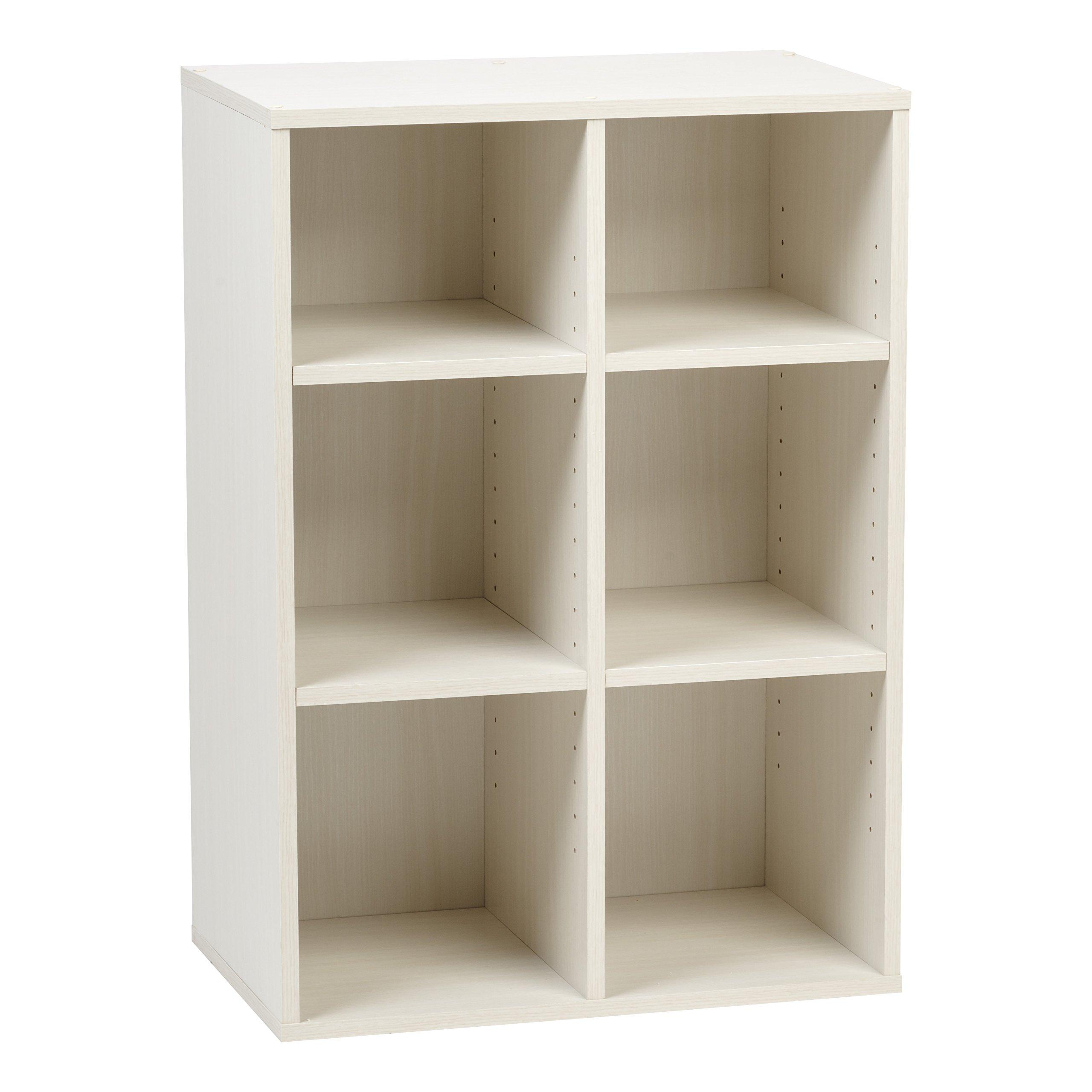 IRIS USA 596332 Wood Shelf, Queen, Off White