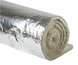 """Duct Insulation,1-1/2"""" x 48"""" x 25Ft"""