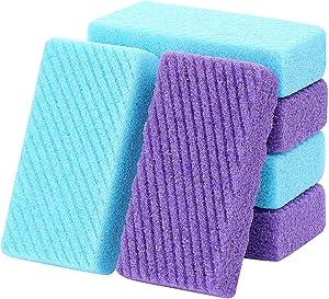 6 pcs Foot Pumice Stone Pad, Exfoliating Sponge to Scrub Hard Dead Skin, Callus removal