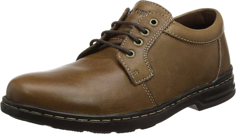 Hush Puppies George Hanston, Zapatos de Cordones Derby para Hombre