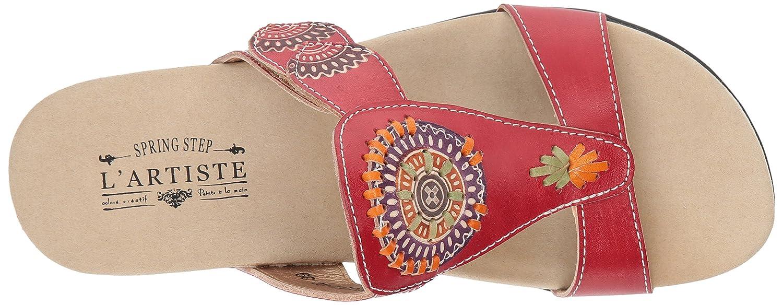 L'Artiste by Spring Step Women's Myrtle Sandals B079NRDMRK 36 M EU Red
