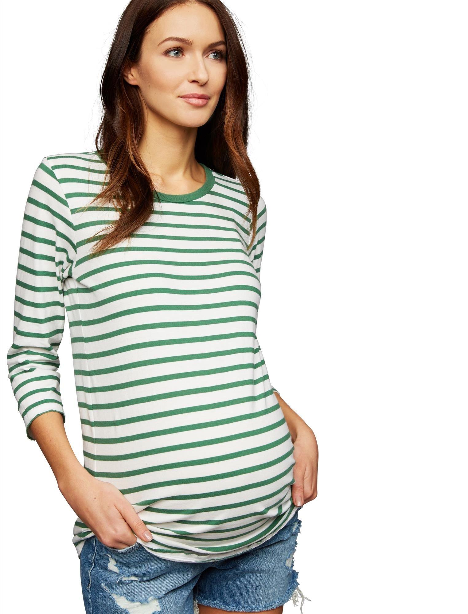 A Pea in the Pod Velvet Maternity T Shirt