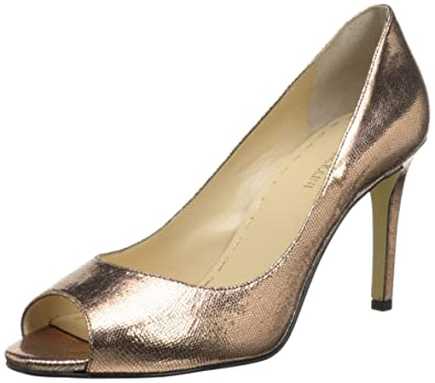 75dbf991a5 Image Unavailable. Image not available for. Color: Enzo Angiolini Women's  Lyttle Pump,Light Pink Leather,6 ...