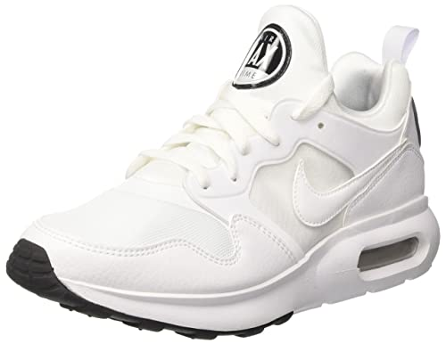 innovative design ff9a4 20359 Nike Men s Air Max Prime Gymnastics Shoes White-Pure Platinum-Black, 6 UK