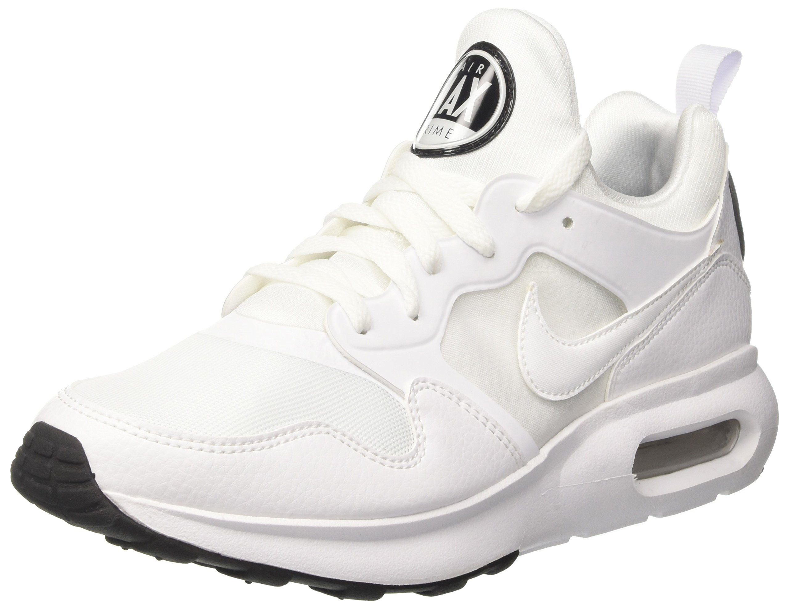 379fa6150bbfa Galleon - NIKE Men's Air Max Prime Running Shoe Athletic And Casual Sneaker  (11 D(M) US, White)